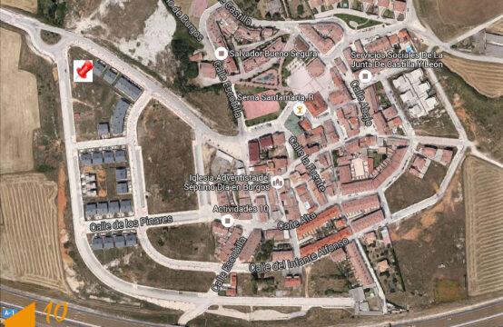 Parcela urbanizada en el barrio de Cortes