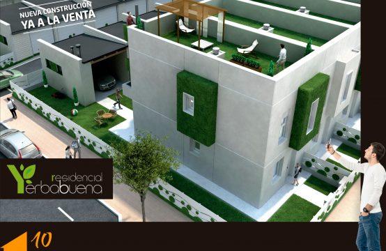 Nueva Promoción de adosados V1 &#8220&#x3B;Residencial Yerbabuena&#8221&#x3B;