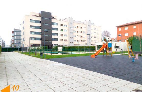 Piso de dos dormitorios con Urbanización en la Celofan